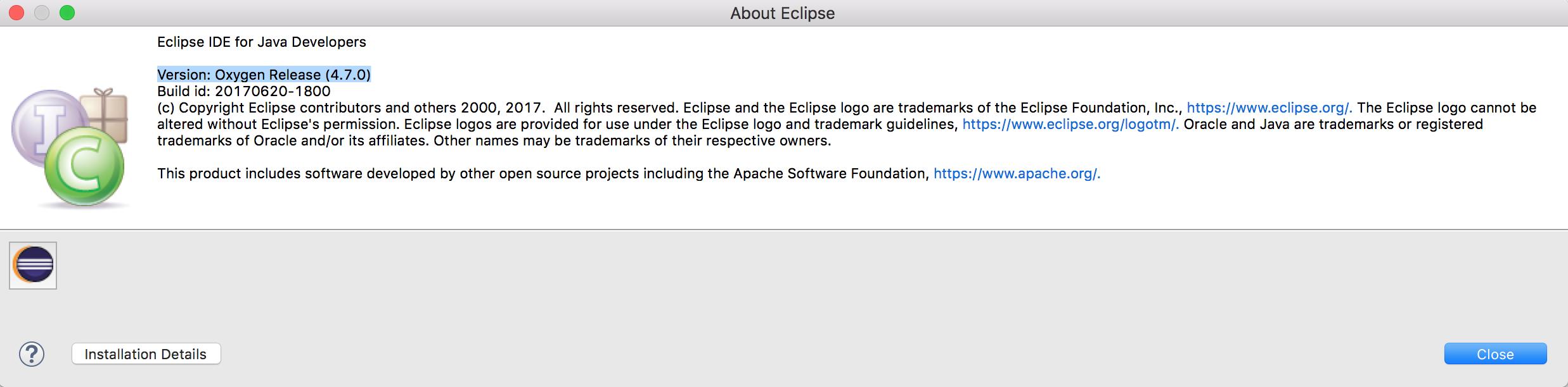 Get Eclipse Version